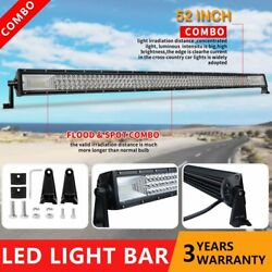 52inch 700w Cree Light Bar Combo Offroad Roof Light For Jeep Polaris Rzr 50''