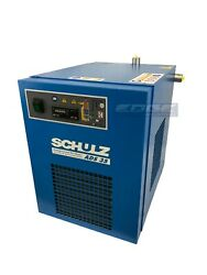 Schulz 35 Cfm Refrigerated Compressed Air Dryer, 7.5hp And 10hp Compressors, 115v