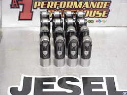 16 Jesel .905 Dogbone Centered Solid Roller Lifters Chevy Ford Dodge