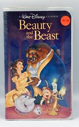 Disney's Beauty And The Beast Black Diamond Vhs Unopened Mint 1325 Collectible