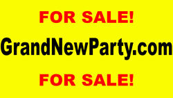 Grandnewparty.com - Perfect Domain Name For The 2020 Election