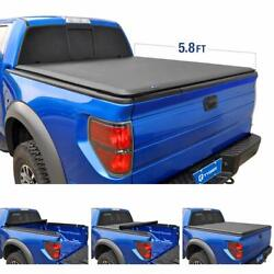 Tyger Auto 5.7 T1 Roll Up Truck Tonneau Cover TG-BC1D9018 Works with 2009-2019 D