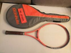 New Rare Donnay Pro One Agassi Limited Edition Belgium 4 3/8 Grip Tennis Racquet