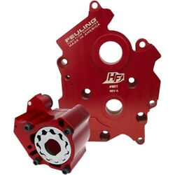 Feuling 7199 Red Race Series Oil Pump And Camplate Kit 17-19 Harley M-eight M8