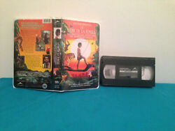 Jungle Book The Adventures Of Mowgli And Baloo Vhs Tape And Clamshell Case French