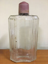 Antique Huge Perfume Bottle Rare Collectible Coty 9.5 Tall By 5 Wide Vintage