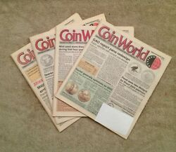 Vintage 4 Coin World Numismatic Magazines Jan., Feb. 2003 With Price Value Guide
