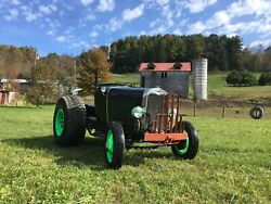 Ford Model A Doodlebug Tractor Conversion