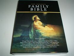 The Holman Family Bible King James Version White Padded Bonded Leather New