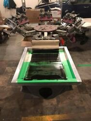 Screen Printing Business - ANTEC Legend 6x3 Press