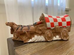 Vintage Ralston Purina Checkered Chuck Wagon, 1975 Squeeze Toy , Advertising