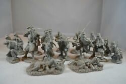 Toy Soldiers Of San Diego Tssd Union Great Coat Infantry Set 6b Gray Civil War