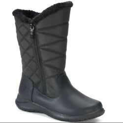 Totes Boots Jill 11 Medium Black New With Tags M Waterproof Winter Thermolite $54.99