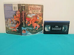 Tarzan And Jane Vhs Tape And Clamshell Case French