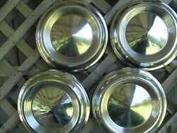Checker Marathon Yellom Taxi Cab Hubcaps Wheel Covers Center Caps Vintage