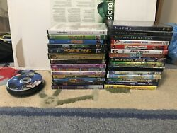 52 Dvd Lot Movies And Tv Shows Some New Some Used