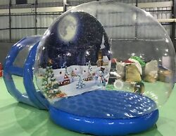 Inflatable Snow Globe - 10' Life Size Commercial Grade with different Background