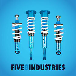Five8 Industries Coilovers Height Adjustable For Audi A4 1996-2001 Awd B5