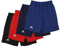 Adidas Men#x27;s Sports Climalite Knit 10 inch Shorts Color Options $19.99