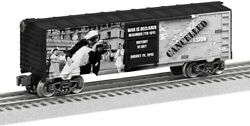Lionel Trains - Kiss The War Goodbye Musa Boxcar, O Gauge [new Toy] Train , To