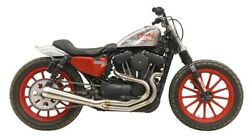 Bassani Road Rage Iii 2 Into 1 Megaphone Exhaust System Sportster Xl 04-up