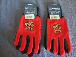Two 2 Pair Of Maryland , Sport Utility Gloves From Forever Collectables