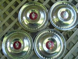 Vintage 1952 1953 Lincoln Mark Continental Premier Town Car Hubcaps Wheel Cover