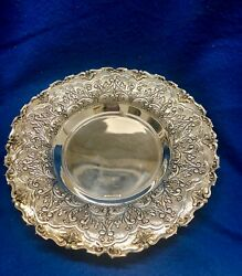 Hz Benedetti Hazorfim 925 Silver Judaica Plate Est $3K Apr Value
