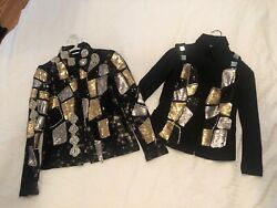Western Pleasure Shirt And Vest Custom Outfit Youth 12/14 Sms And Hms