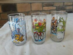 The Great Muppet Caper Vintage 1981 Mcdonalds Collector Glasses Set Lot Of 6