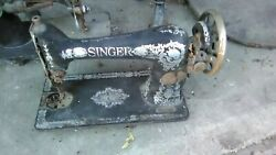 Antique Singer Sewing Machines - Two Vintage Decorative Machines Reduced To Sell