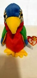 Ty Beanie Babie Jabber, Dob Oct 30, 1997, Tush 1998 New Protected Stored Mint