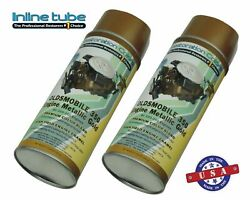 64-77 Gm Oldsmobile Engine Spray Paint X2 Can Fast Dry Gold 350 W-31 Valve Cover