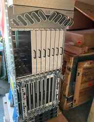 Cisco Chassis ASR-9912-AC 2x A99-RP2-SE w A99-SFC2 Cards ASR-9912-FAN 3x Power