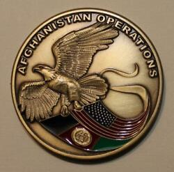 Central Intelligence Agency Cia Afghanistan Ops Silent Warrior Challenge Coin