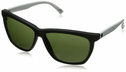 NEW ELECTRIC KNOXVILLE SUNGLASSES Mod White-Black  Melanin Grey EE09050220