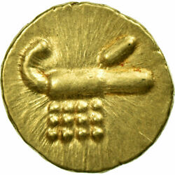 [653226] Coin, India, Fanam, Ms60-62, Gold