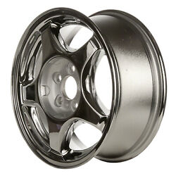 Chrome Plated 5 Spoke 16X6.5 Factory wheel 1996-1997 Lincoln Continental