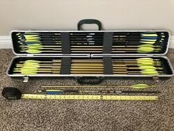 Archery Hard Case Victory V-force And Easton Arrows 40 Count | Compound Bow