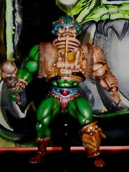 MUSTACHE MAN-AT-ARMS WHAT ? Masters of the Universe HE-MAN Original Figure MOTU