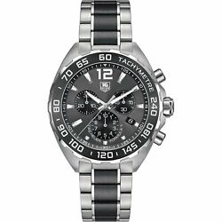 Tag Heuer Menand039s Caz1111.ba0878 Formula One Chronograph Stainless Steel Watch