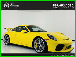 2018 Porsche 911 GT3 Coupe 1 of 1 Color Ceramic Composite Brakes 2018 Porsche 911 GT3 Coupe Yellow  *TradeFinancing 480.418.6160*