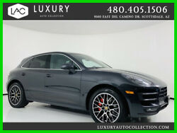 2017 Porsche Macan Turbo AWD Heated and Cooled Seats Auto Start Stop 2017 Porsche Macan Turbo AWD Black  *TradeFinancing 480.418.6160*