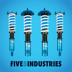 Five8 Industries Coilovers Height Adjustable For Mitsubishi Lancer Evo 2001-2007