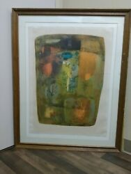 Hoi Lebadang 1921-2015 Abstract Vintage Lxxii/cl Artist Proof