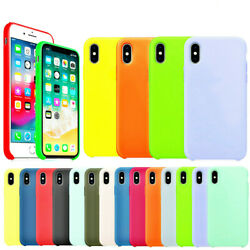 For Apple iPhone 11 PRO MAX X XR XS Max 7 8Plus softl Silicone Case Cover