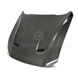 18-19 Ford Mustang Type-oe Anderson Carbon Fiber Body Kit Hood Ac-hd18fdmu-oe-ds