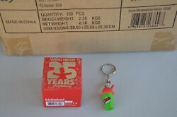Lot Of 100 The Simpsons 25th Anniversary Keychains - Squishee