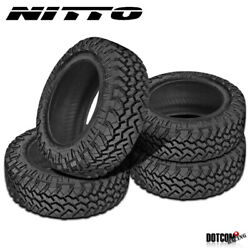 4 X New Nitto Trail Grappler M/t 33/12.5r20 114q Off-road Traction Tire