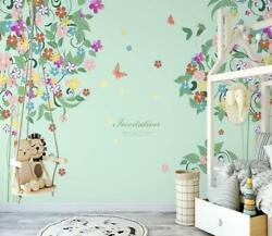 3d Butterfly O2011 Wallpaper Wall Mural Removable Self-adhesive Sticker Kids Amy